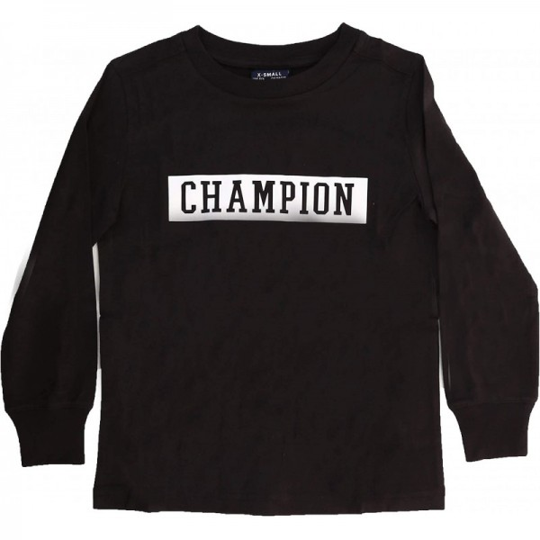 CHAMPION- T-SHIRT M/L BIMBO